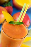 Smoothie de fruit Photo libre de droits