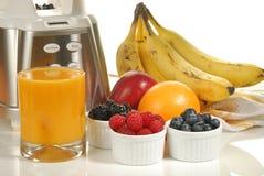 Smoothie de fruit frais Images libres de droits