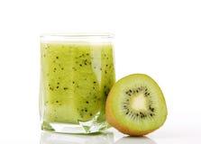 Smoothie de kiwi image stock