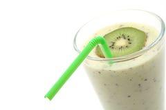Smoothie de kiwi image libre de droits