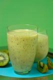 Smoothie de kiwi Photo stock