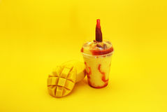 Smoothie de mango con Chamoy Royalty Free Stock Photos