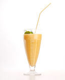 Smoothie de mangue Images libres de droits