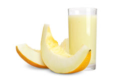 Smoothie de melon photo libre de droits