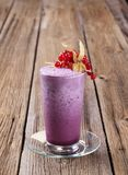 Smoothie de myrtille Images libres de droits