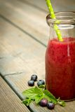 Smoothie de myrtille Image libre de droits