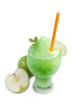 Smoothie del Apple Immagini Stock