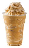 Smoothie del café de la leche Fotos de archivo