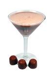 Smoothie del cioccolato Fotografia Stock