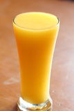 Smoothie del mango Fotografia Stock