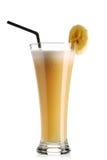 Smoothie della banana Immagini Stock Libere da Diritti