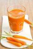 Smoothie della carota Fotografia Stock Libera da Diritti