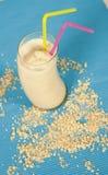 Smoothie della farina d'avena Fotografia Stock Libera da Diritti