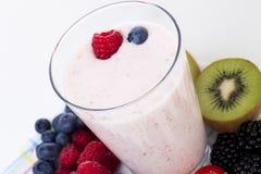 Smoothie della frutta fresca Immagine Stock