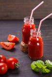 Smoothie des tomates Image stock