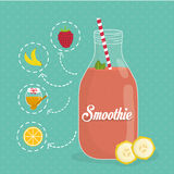 Smoothie design. Stock Photos