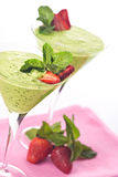Smoothie-dessert Royalty Free Stock Images