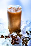 Smoothie do café foto de stock
