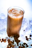 Smoothie do café fotos de stock royalty free