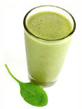 Smoothie do espinafre Foto de Stock Royalty Free