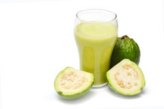 Smoothie drink. Glass of healthy fruit smoothie drink royalty free stock photos