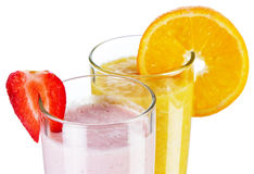 Smoothie drinks Stock Photos