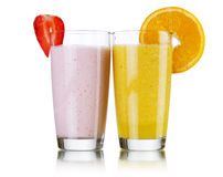 Smoothie drinks Royalty Free Stock Photography