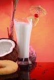 smoothie för pi för coctailkokosnötcolada Arkivfoto