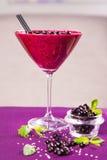 Smoothie för röd vinbär Royaltyfria Foton
