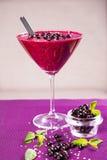 Smoothie för röd vinbär Royaltyfri Bild