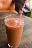 Smoothie frais de fraise Photo libre de droits