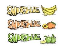 Smoothie fruité 1 illustration de vecteur