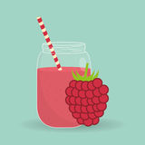 Smoothie icon design , vector illustration. Smoothie concept with icon design, vector illustration 10 eps graphic Royalty Free Stock Images