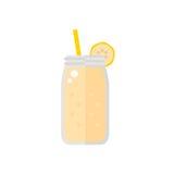 Smoothie ikona odizolowywająca na białym tle Obraz Royalty Free