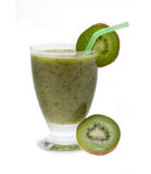 Smoothie Kiwi Royalty Free Stock Images