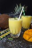 Smoothie/Lassi манго Стоковая Фотография