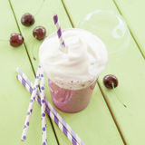 Smoothie made from red fruits Royalty Free Stock Photos