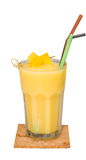 Smoothie mango, fresh drink Royalty Free Stock Photo