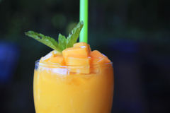 Smoothie mango Stock Photos
