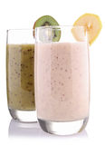 Smoothie or milkshake Stock Photos