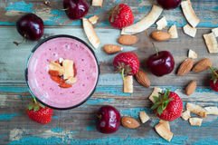 Smoothie milkshake Stock Images
