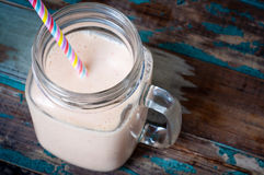 Smoothie milkshake Royalty Free Stock Image