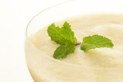 Smoothie with mint closed-up Royalty Free Stock Photography