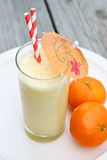 Smoothie orange Photos stock