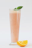 Smoothie with orange and mint Stock Images