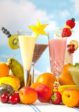 Smoothie party Royalty Free Stock Image
