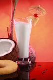 smoothie pi colada кокоса коктеила Стоковое Фото