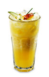 Smoothie - Pineapple With Apple Royalty Free Stock Photos