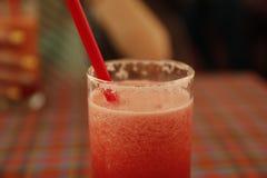 Smoothie sain de pastèque thailand Photographie stock