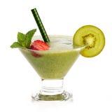 Smoothie sano de la fruta fresca Concepto de dieta Fotografía de archivo